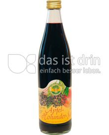 Produktabbildung:  Apfel-Holunder-Saft 0,5 l