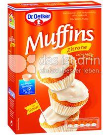 Produktabbildung: Dr. Oetker Zitronen Muffins 415 g