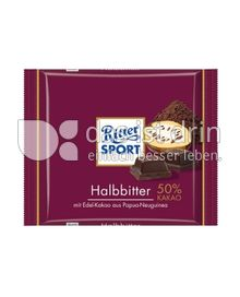 Produktabbildung: Ritter Sport Halbbitter 50% Kakao 100 g