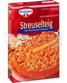 Produktabbildung: Dr. Oetker Streuselteig 400 g