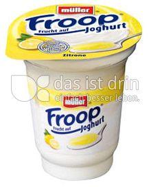 Produktabbildung: Müller Froop® Frucht auf Joghurt Zitrone 150 g