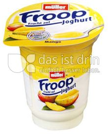 Produktabbildung: Müller Froop® Frucht auf Joghurt Mango 150 g