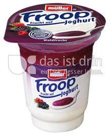 Produktabbildung: Müller Froop® Frucht auf Joghurt Waldfrucht 150 g
