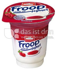 Produktabbildung: Müller Froop® Frucht auf Joghurt Himbeere 150 g