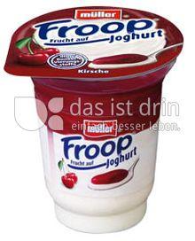 Produktabbildung: Müller Froop® Frucht auf Joghurt Kirsche 150 g