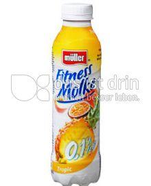 Produktabbildung: Müller Fitness Molke Tropic 482 ml
