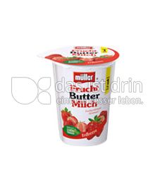Produktabbildung: Müller Frucht Buttermilch Erdbeere 500 g