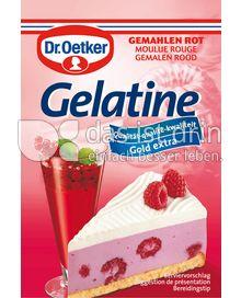 Produktabbildung: Dr. Oetker Gelatine gemahlen rot 27 g