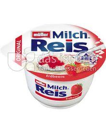 Produktabbildung: Müller Milchreis® Original Erdbeere 200 g