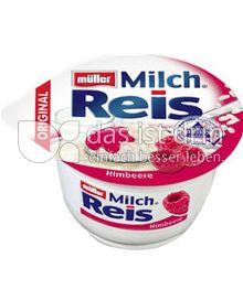 Produktabbildung: Müller Milchreis® Original Himbeere 200 g
