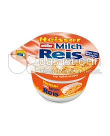Produktabbildung: Müller Heißer Müller Milchreis® Apfelstrudel 200 g