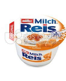 Produktabbildung: Müller Milchreis® Original Typ Toffee 200 g