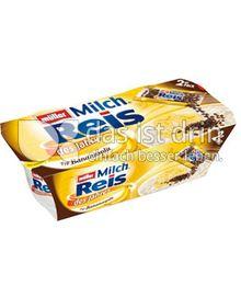Produktabbildung: Müller Milchreis® des Jahres Typ Bananasplit 207 g