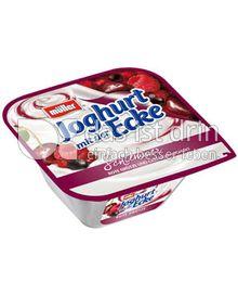 Produktabbildung: Müller Joghurt mit der Schlemmer Ecke® Rote Grütze 150 g