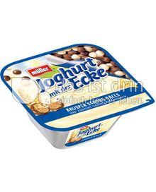 Produktabbildung: Müller Joghurt mit der Knusper Ecke® Schoko Balls 150 g