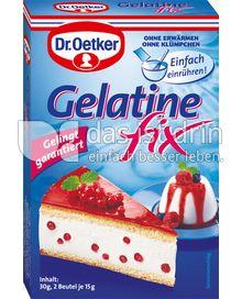 Produktabbildung: Dr. Oetker Gelatine Fix 30 g