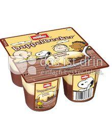Produktabbildung: Müller DoppelDecker® Schoko & Vanilla 500 g