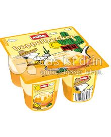 Produktabbildung: Müller DoppelDecker® Mango & Vanilla 500 g