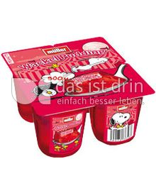 Produktabbildung: Müller Wackelpudding Himbeergeschmack 500 g