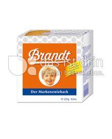 Produktabbildung: Brandt Markenzwieback 225 g