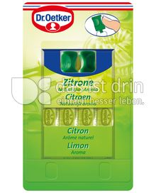 Produktabbildung: Dr. Oetker Zitronen Aroma 4 St.