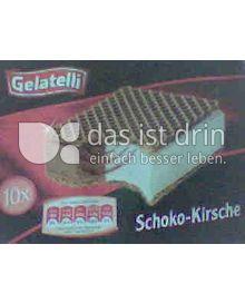 Produktabbildung: Gelatelli Eiswaffel Schoko-Kirsche