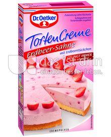 Produktabbildung: Dr. Oetker Erdbeer-Sahne Tortencreme