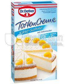 Produktabbildung: Dr. Oetker Käse-Sahne Tortencreme
