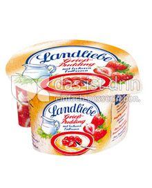 Produktabbildung: Landliebe Grießpudding mit leckeren Erdbeeren 150 g