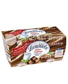 Produktabbildung: Landliebe Sahne Pudding mit feinem Kakao 4 St.