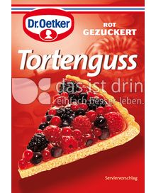 dr oetker gezuckerter tortenguss rot 368 0 kalorien kcal und inhaltsstoffe das ist drin. Black Bedroom Furniture Sets. Home Design Ideas