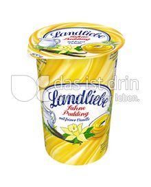 Produktabbildung: Landliebe Sahne Pudding mit feiner Vanillie 500 g