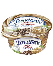 Produktabbildung: Landliebe Sahne Pudding Milchkaffee 150 g