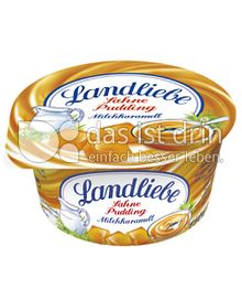 Produktabbildung: Landliebe Sahnepudding Milchkaramell 150 g