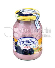 Produktabbildung: Landliebe Fruchtjoghurt mit erlesenen Brombeeren 500 g