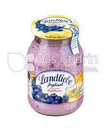 Produktabbildung: Landliebe Joghurt mit erlesenen Heidelbeeren 500 g