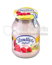 Produktabbildung: Landliebe Joghurt mit erlasenen Himbeeren 500 g