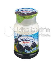 Produktabbildung: Landliebe Joghurt auf erlesenen Früchten Brombeere 150 g