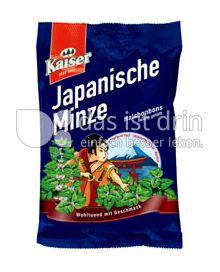 Produktabbildung: Kaiser Japanische  Minze Bonbon 90 g