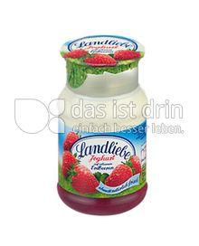 Produktabbildung: Landliebe Joghurt auf erlesenen Früchten Erdbeere 150 g