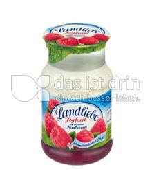 Produktabbildung: Landliebe Joghurt auf erlesenen Früchten Himbeere 150 g