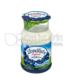 Produktabbildung: Landliebe Joghurt auf erlesenen Früchten Heidelbeere 150 g