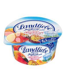 Produktabbildung: Landliebe Fruchtjoghurt Pfirsich-Maracuja 150 g