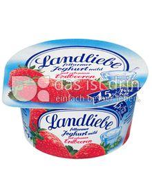 Produktabbildung: Landliebe Fruchtjoghurt Erdbeere 150 g