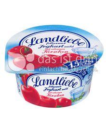 Produktabbildung: Landliebe Fruchtjoghurt Kirsche 150 g