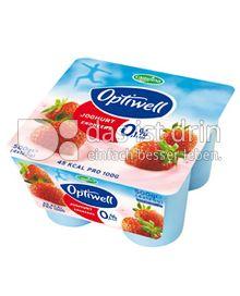 Produktabbildung: Optiwell Joghurt Erbeere 4 St.