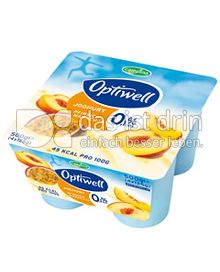 Produktabbildung: Optiwell Joghurt Pfirsich-Maracuja 4 St.