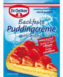 Produktabbildung: Dr. Oetker Backfeste Pudding Creme