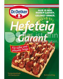 Produktabbildung: Dr. Oetker Hefeteig Garant