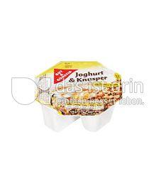 Produktabbildung: Gut & Günstig Joghurt & Knusper Müsli 175 g